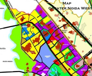greater noida west map