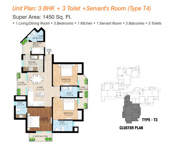Imperia Mirage Homesfloor plan