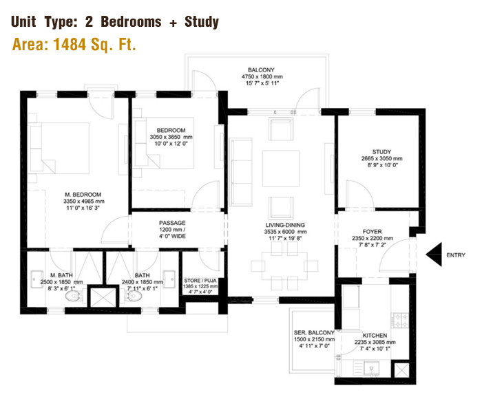 IREO The Corridorsfloor plan
