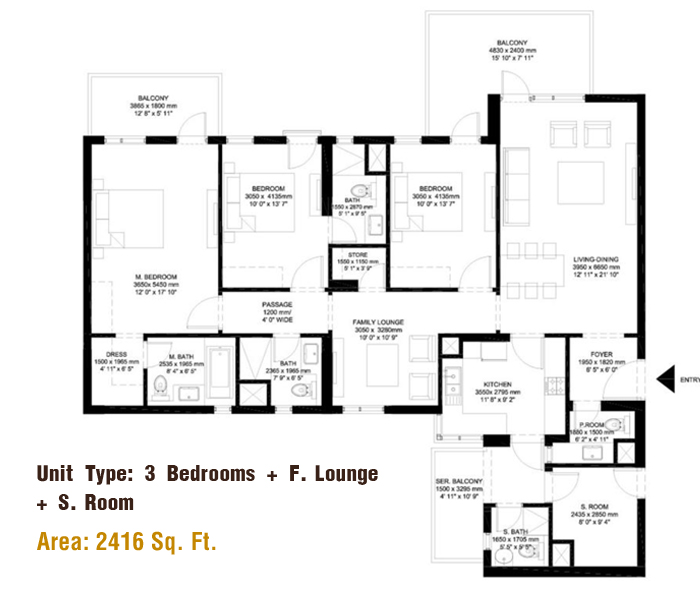 IREO The Corridorsfloor plan