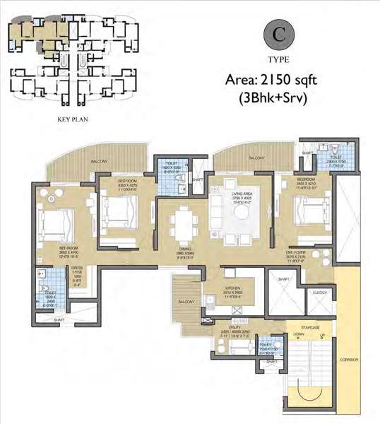 ATS Tourmalinefloor plan