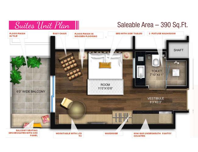 Clarks Residencesfloor plan