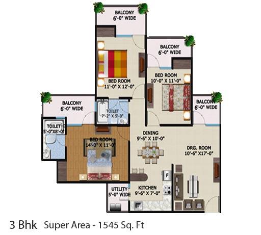 Eco Village 1 Supertech Ecovillage 1 Greater Noida West