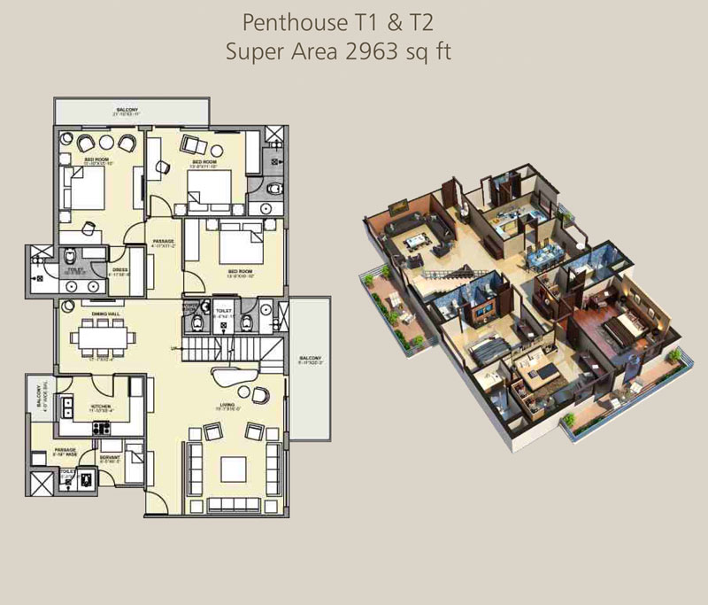 Eminent Heightsfloor plan