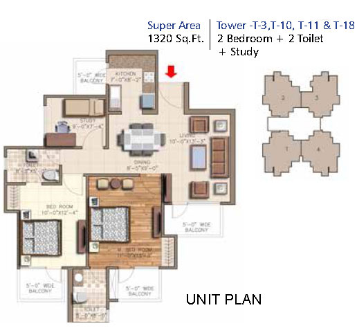 Hyde Parkfloor plan