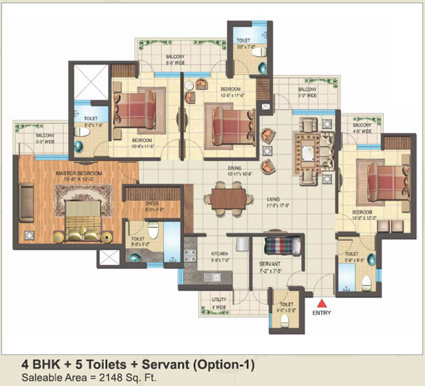 Express Park View IIfloor plan