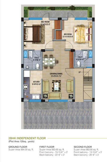 GBP Crest - Floorsfloor plan