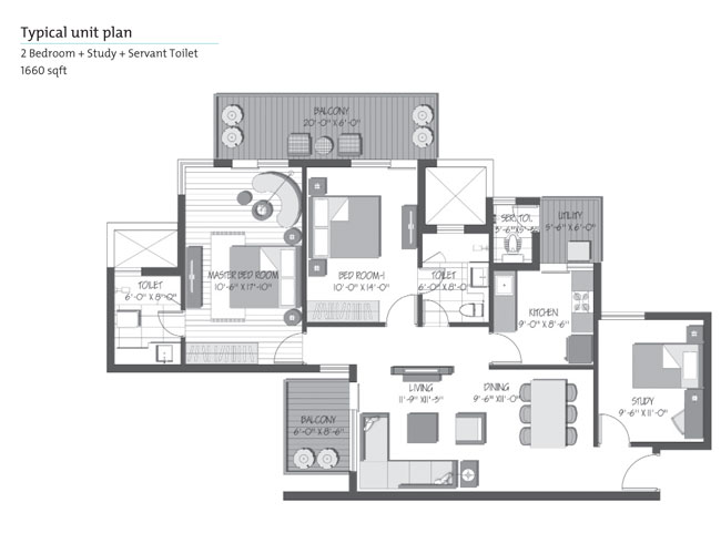 Orris Greenopolisfloor plan