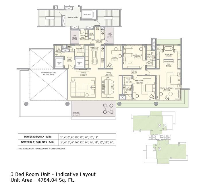 Ireo Gurgaon Hillsfloor plan