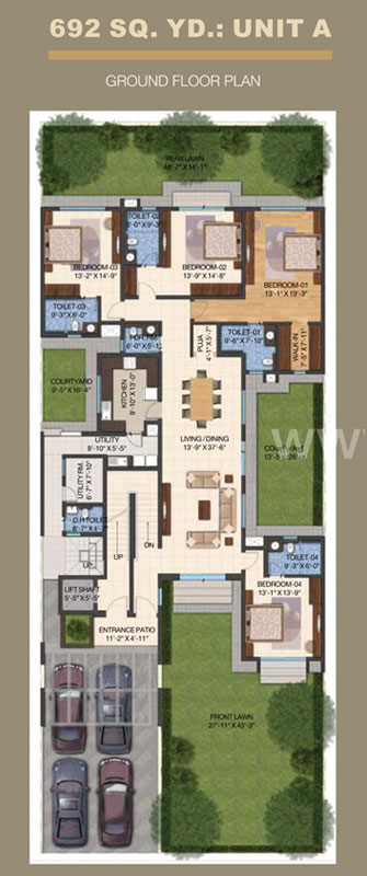 International Cityfloor plan