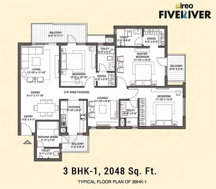 Ireo Fiveriverfloor plan