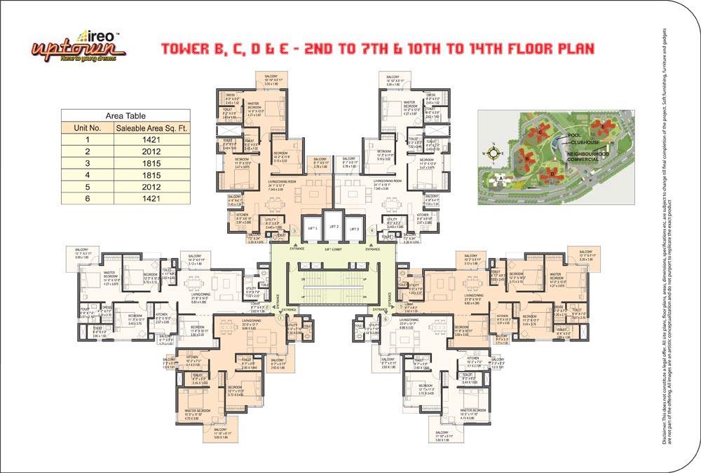 Ireo Uptownfloor plan