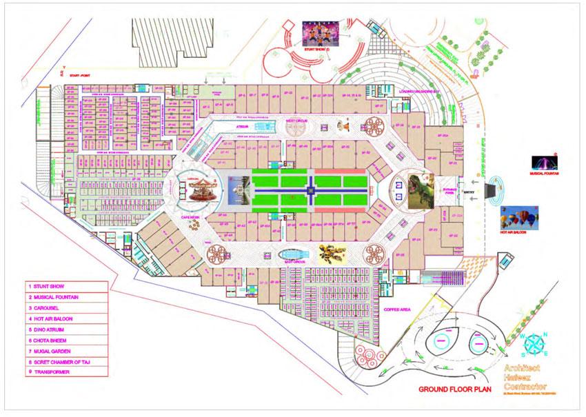 Omaxe Connaught Placefloor plan