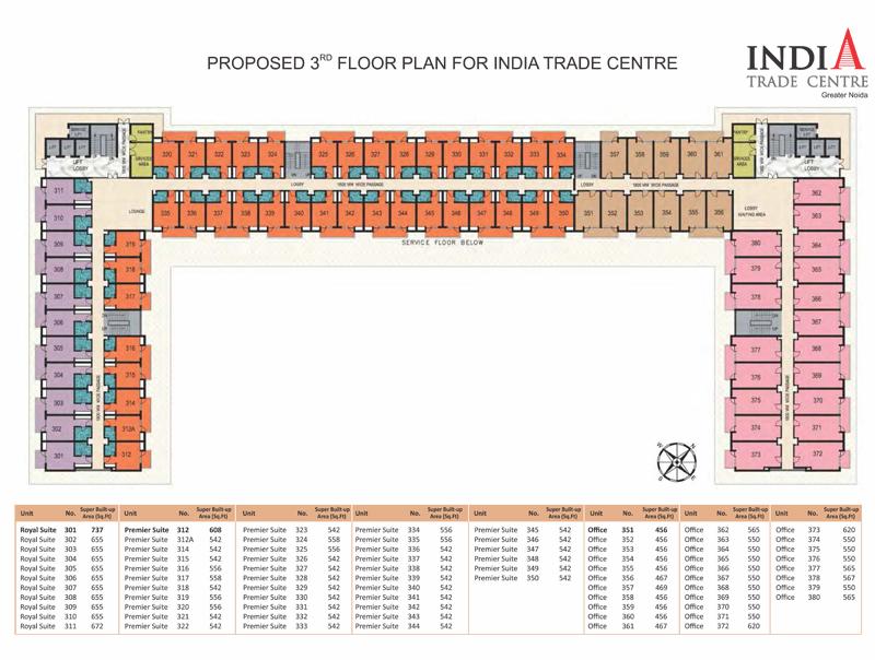 Omaxe ITCfloor plan