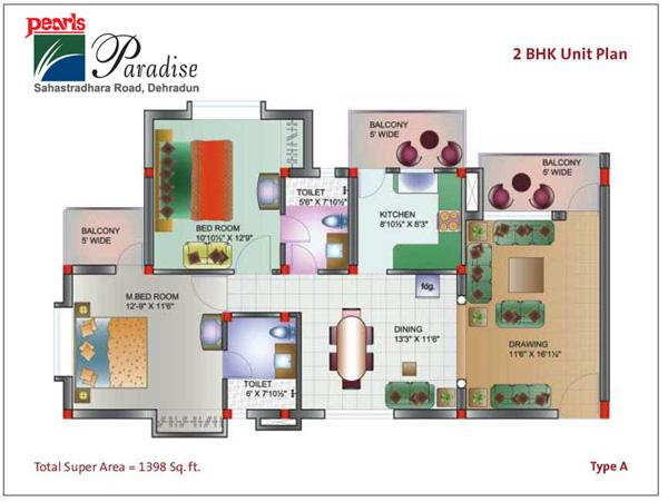 Pearls Paradisefloor plan