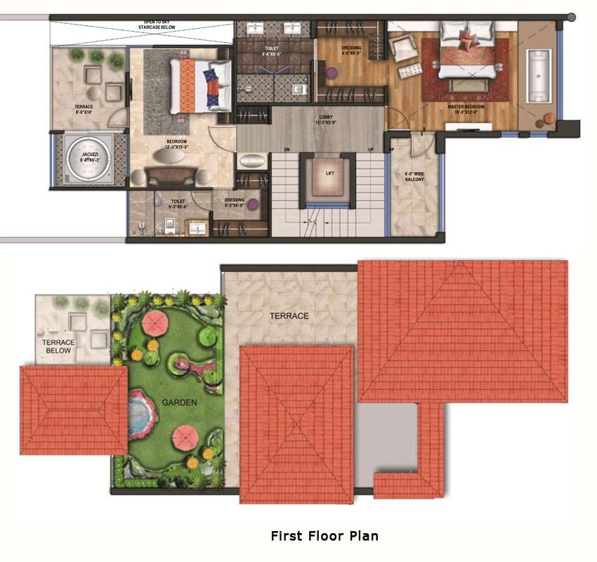 Rise Beach Villasfloor plan