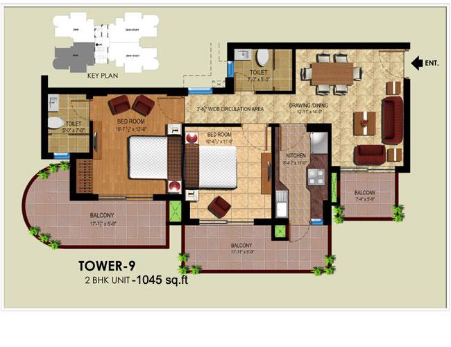 Ansal Royal Heritagefloor plan