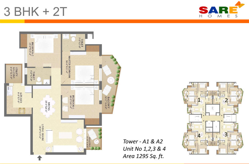 Sare Homes Olympiafloor plan