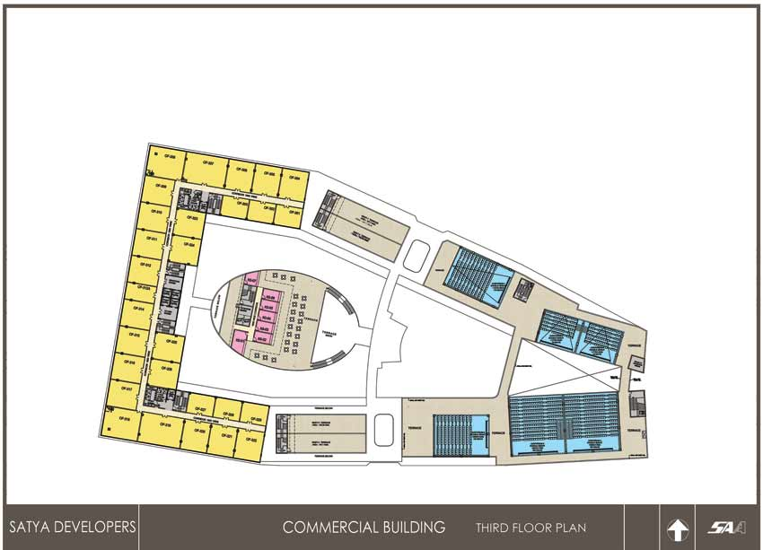 Satya Group Food Court Gurgaonfloor plan