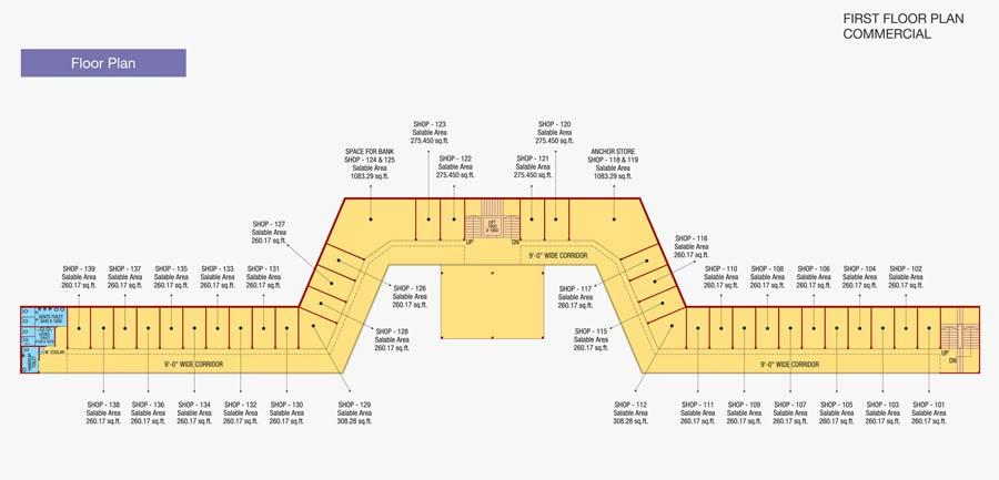 Signum 71floor plan