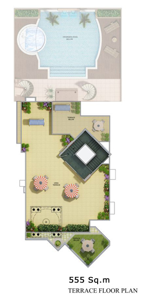 Ritz Chateauxfloor plan