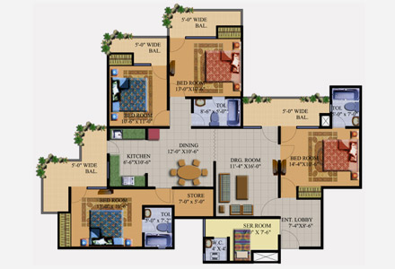 Meerut Sports Cityfloor plan