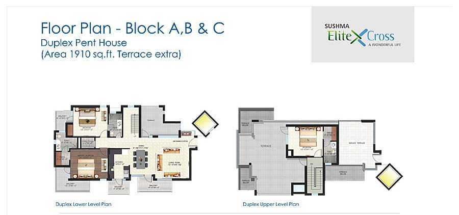 Sushma Elite Crossfloor plan