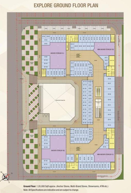Trustone Galleriafloor plan