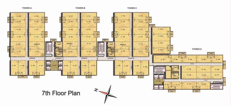 Urbtech Trade Centrefloor plan