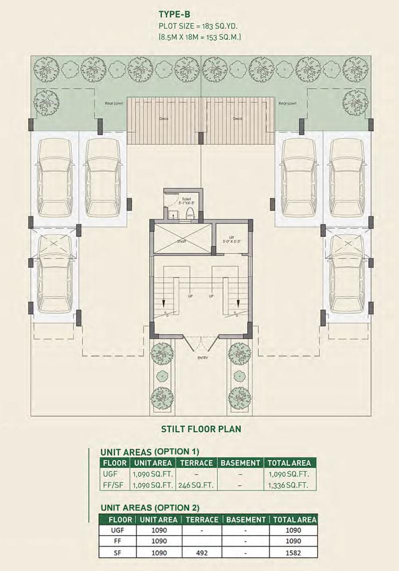 Woodview Residencesfloor plan