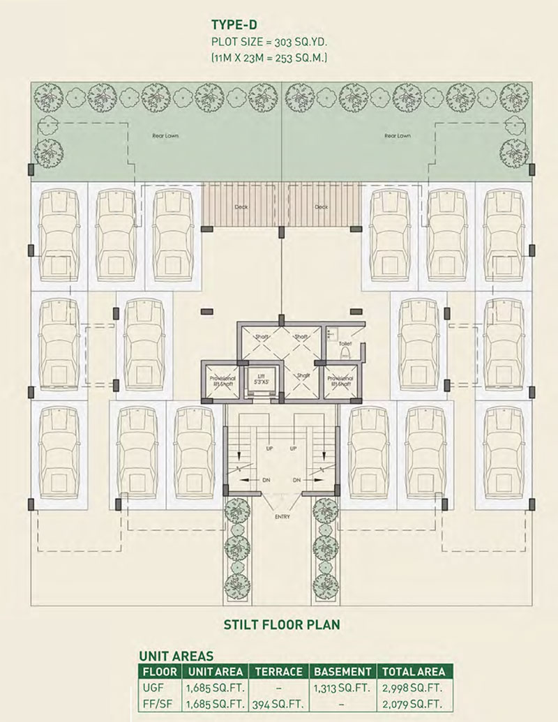 Woodview Residencesfloor plan