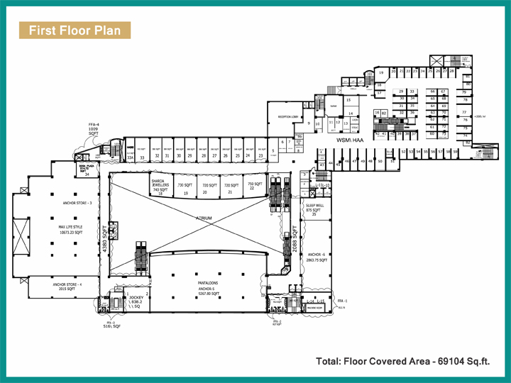 World Square Mallfloor plan